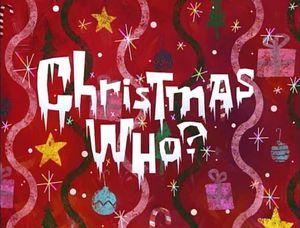Christmas Who-
