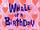 Aniversário da Baleia