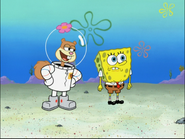 Sandy in To SquarePants or Not to SquarePants-3