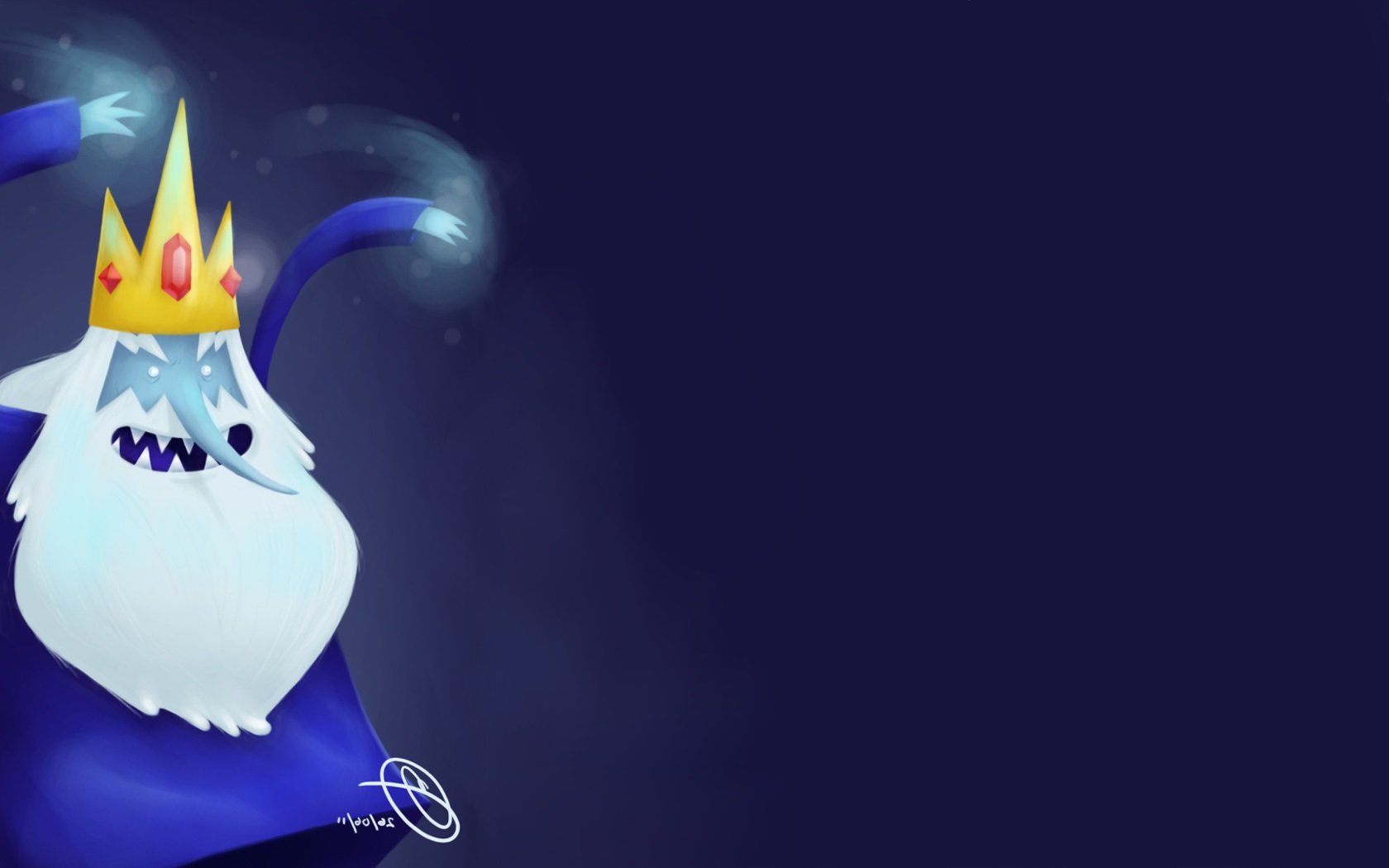 Ice King Adventure Time Wallpaper HD