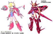 Daedalus R-Girl and Faintear