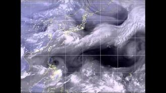 Experimental 2015 Pacific typhoon season animation (June 24 - 25)
