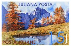 15 Justina stamp