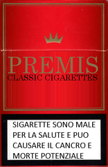 PREMIS cIGARETTES bOX