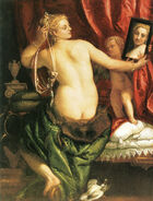 Paolo Veronese - Venus at her Toilette