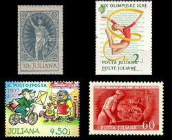 Stamps of Juliana