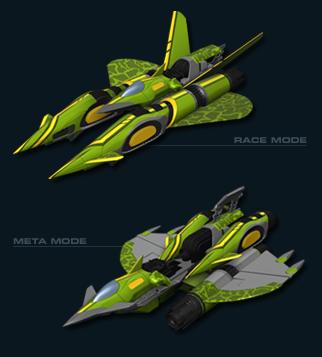 Foxtrot jet