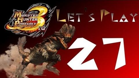 Let's Play Monster Hunter Portable 3rd 27 Barroth, el Dragon de la Arena
