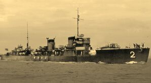Japanese destroyer Minekaze Yokosuka Showa 7 (1)