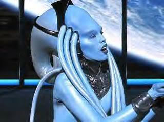 Alien diva