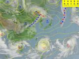 Weather map天氣圖