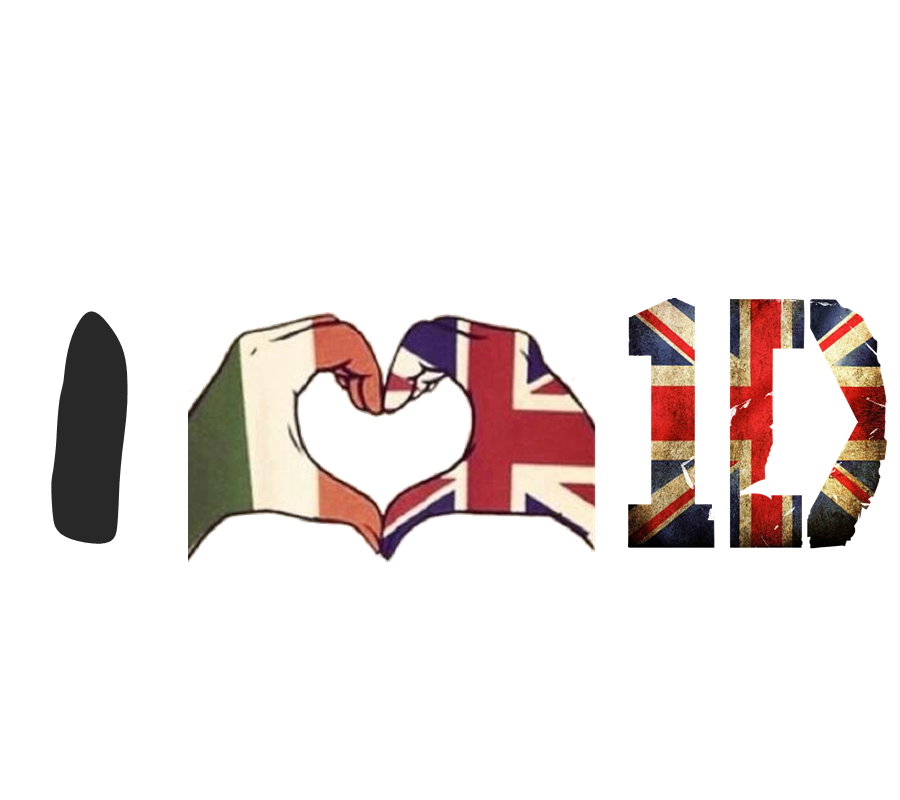 I Love One Direction Logo Imagen - I love...