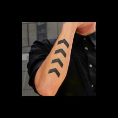 Cuatro <b>››››</b> En el antebrazo derecho (7 de noviembre, 2012)