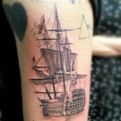 Un <b>barco</b> (19 de diciembre de 2012)