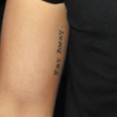 <b>Far Akay.</b> en bíceps derecho  (20 de octubre 2012)