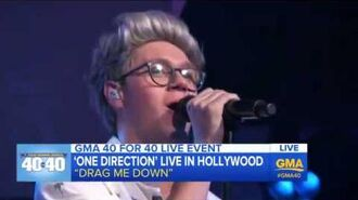 One Direction - Drag Me Down (live at GMA)