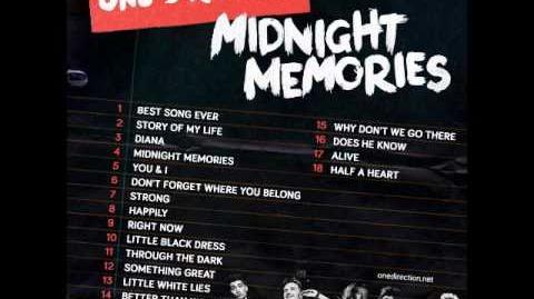 Video Midnight Memories One Direction Full Album