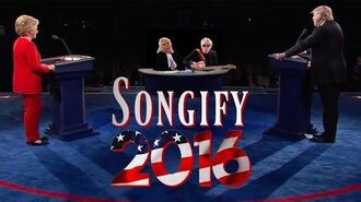 TRUMP VS. CLINTON (ft. Blondie) - Songify 2016-0