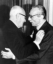 Sandro Pertini e Eduardo De Filippo