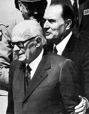 Sandro Pertini e Mitterrand
