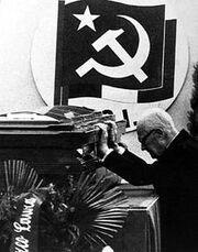 Sandro Pertini funerale Berlinguer