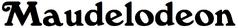 Maudelodeon Used Logo