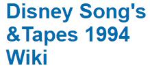 DisneySongsTapes