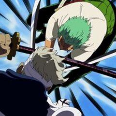 Zoro VS Ryuuma