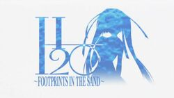 Logo H2O Footprints in the Sand