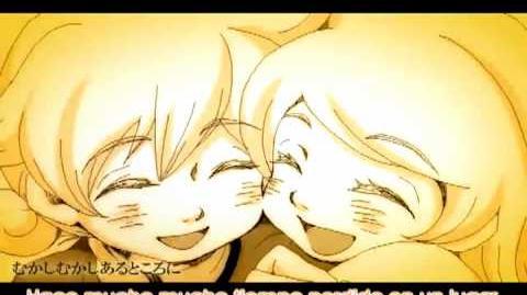 Classical version Servant of evil - Len Kagamine (sub español) Anime PV