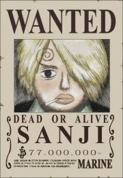 1 wanted sanji