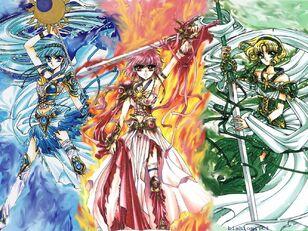 Las guerreras magicas
