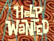 Help Wanted - title card english