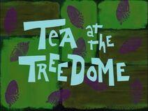 Tea at the Treedome - title card english