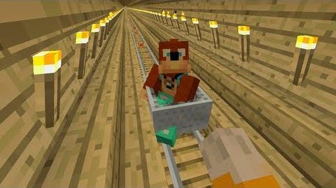 Minecraft Xbox - Tree Train 122