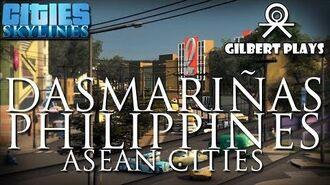 Dasmariñas City Cinematics - Cities Skylines - ASEAN Cities
