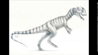When Dinosaurs Roamed America Dilophosaurus sounds