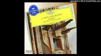 Karl Richter - Organ Works Toccata & Fugue In D Minor - I. Toccata - BWV 565