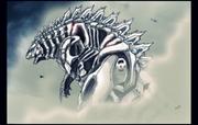 Mechagodzilla by isaacbarnett-d7uw3vh