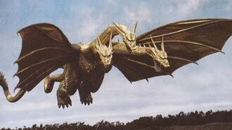 Godzilla The Game King Ghidorah Intro PS4 HD