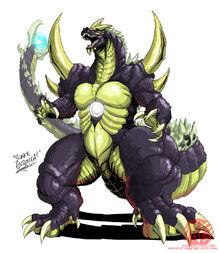 Godzilla neo super godzilla by kaijusamurai