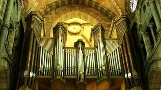 Organ music Trumpet Tune and Air, by Henry Purcell
