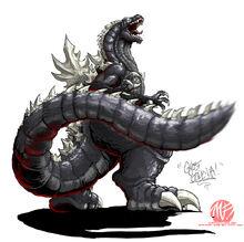 Godzilla Neo GHOST GODZILLA by KaijuSamurai