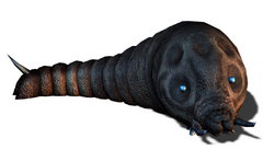 Godzilla Unleashed - Mothra Larva
