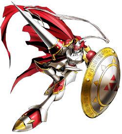 Dukemon (Crusader official art)