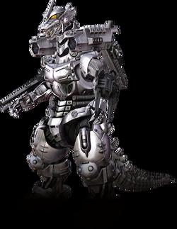 Godzilla the video game kiryu aka mechagodzilla 3 by sonichedgehog2-d7u1atf