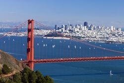 San Francisco with GGB