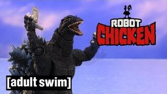 The Best of Godzilla - Robot Chicken - Adult Swim