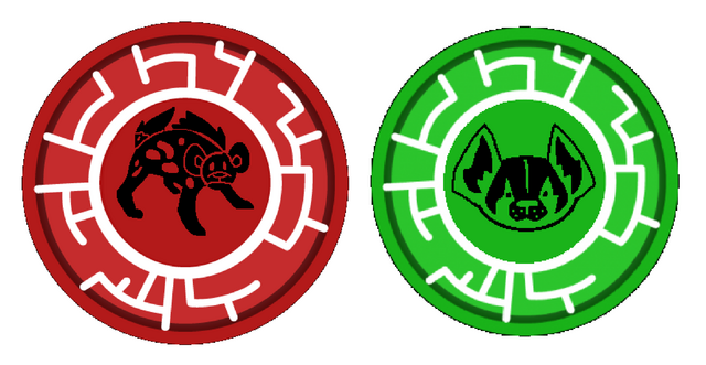 File:Wild Kratts- Hyena and American Badger Power Discs.png