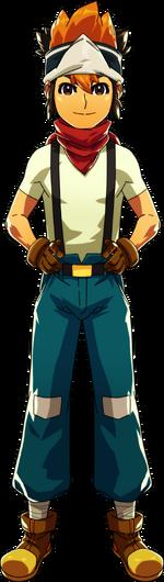 Main character male